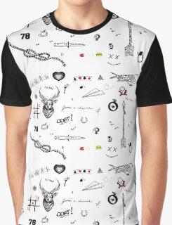 Louis Tomlinson Tattoos (2016 updated) Graphic T-Shirt