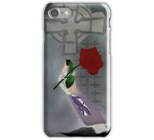 Red Rose of the Dead iPhone Case/Skin