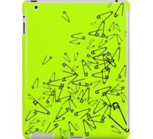 Skull Safety Pins iPad Case/Skin