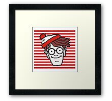 You Know Where is He ?  Framed Print