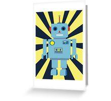 Mr Roboto Greeting Card