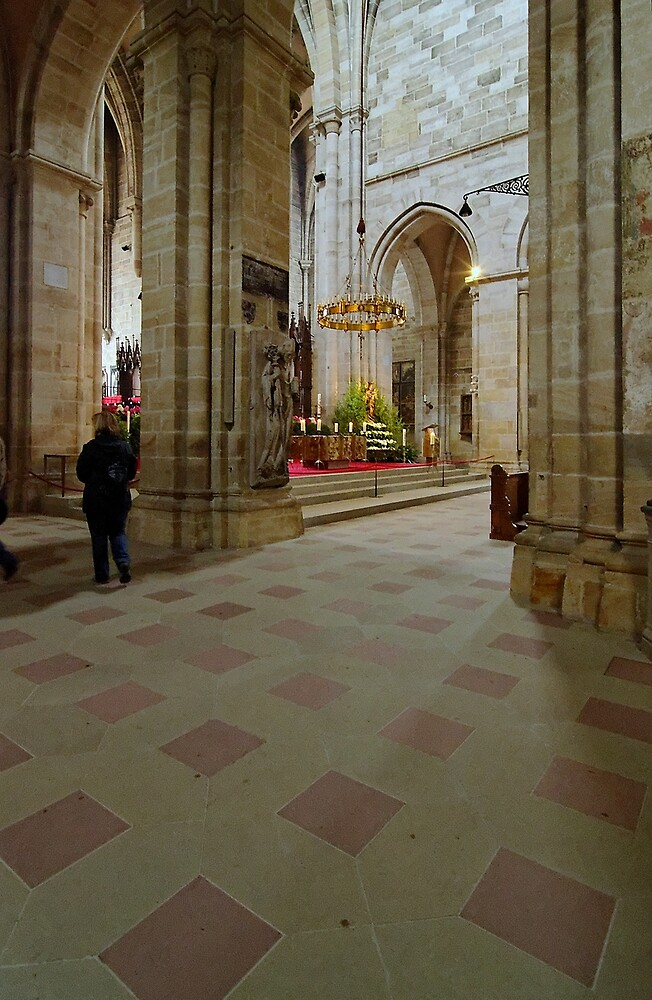 Cathedral, Bamberg 15 by Priscilla Turner