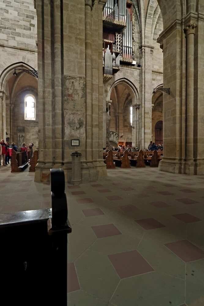 Cathedral, Bamberg 16 by Priscilla Turner