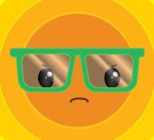 Grumpy Summer Sun Sticker