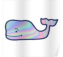 hologram whale Poster