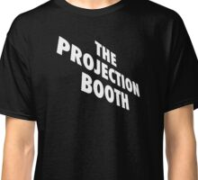 The Projection Booth - Paizs Logo - White Classic T-Shirt