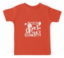 Rick and Morty Inspired Get Schwifty Kids Tee