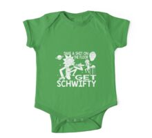 Rick and Morty Inspired Get Schwifty One Piece - Short Sleeve