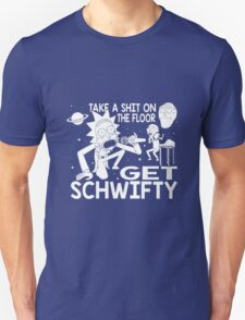 Rick and Morty Inspired Get Schwifty Unisex T-Shirt
