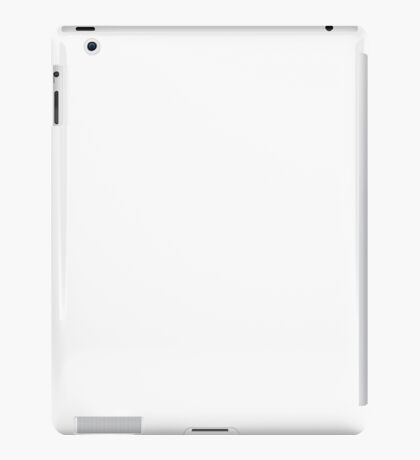 The Projection Booth - Paizs Logo - White iPad Case/Skin