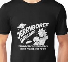 Rick and Morty Inspired Jerryboree Unisex T-Shirt