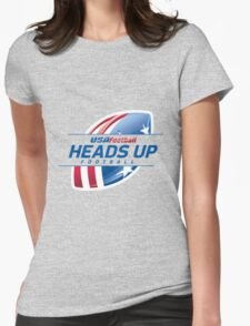 usa football heads up Womens Fitted T-Shirt