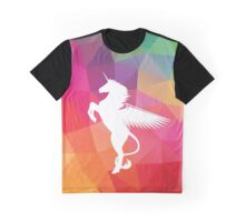 Winged Unicorn by JustinJames Graphic T-Shirt