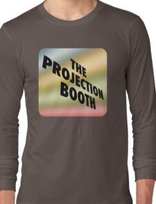The Projection Booth - Paizs Logo - Rainbow Long Sleeve T-Shirt