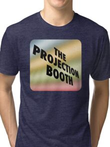 The Projection Booth - Paizs Logo - Rainbow Tri-blend T-Shirt