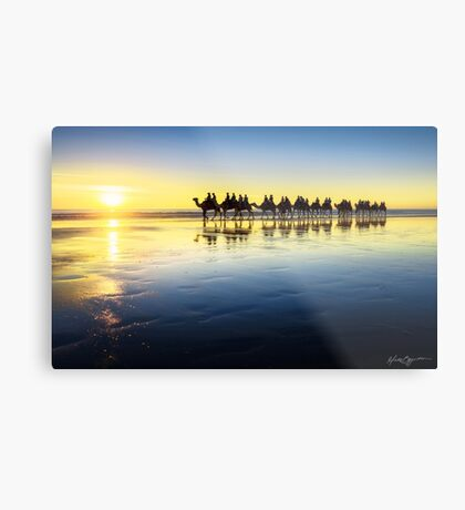 The Cable Beach Camels Metal Print