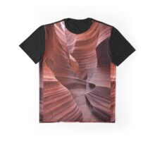 Rattlesnake Canyon curves Graphic T-Shirt
