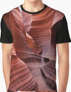 Rattlesnake Canyon curves Graphic T-Shirt