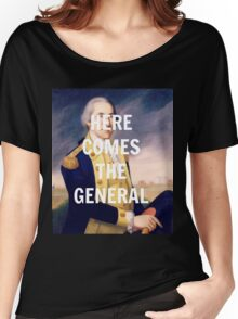 Here Comes the General - George Washington Women's Relaxed Fit T-Shirt