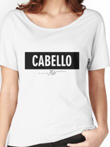 Cabello 7/27 - Black Women's Relaxed Fit T-Shirt