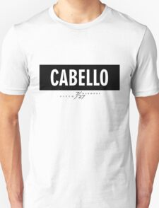 Cabello 7/27 - Black Unisex T-Shirt