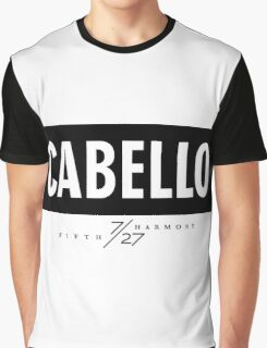 Cabello 7/27 - Black Graphic T-Shirt