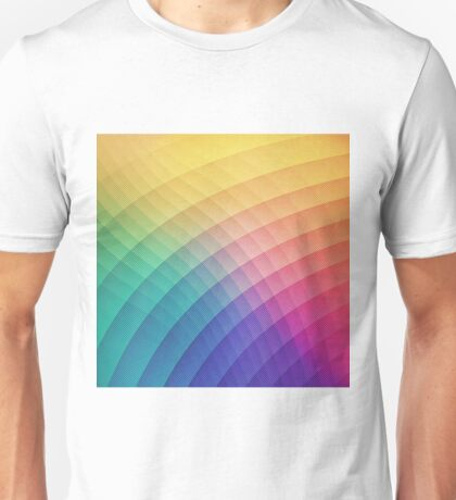 Colorfull Patern Unisex T-Shirt