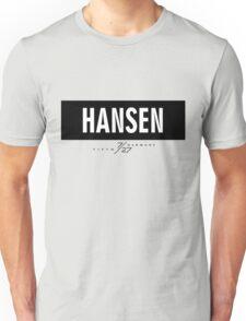 Hansen 7/27 - Black Unisex T-Shirt