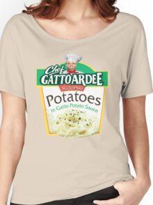 Chef Gattoardee Scoopski Potatoes Women's Relaxed Fit T-Shirt