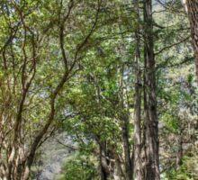 """""""Leuralla"""" Gardens - Leura, NSW Sticker"""