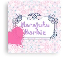 Harajuku Barbie Canvas Print
