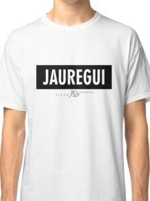 Jauregui 7/27 - Black Classic T-Shirt