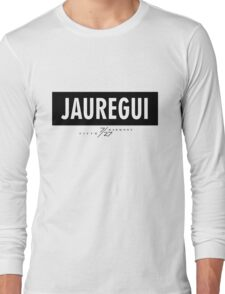 Jauregui 7/27 - Black Long Sleeve T-Shirt