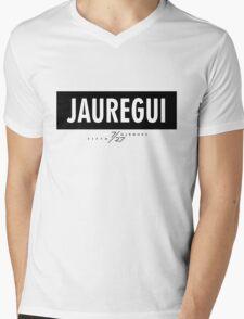 Jauregui 7/27 - Black Mens V-Neck T-Shirt