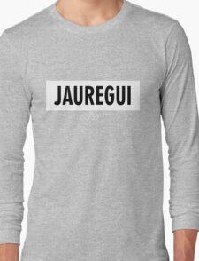 Jauregui 7/27 - White Long Sleeve T-Shirt