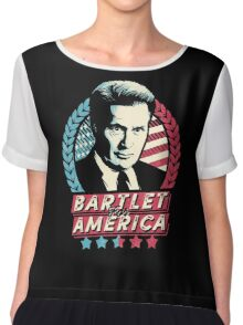 Bartlet for America Chiffon Top