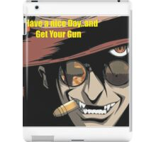 ugly man iPad Case/Skin