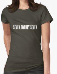Seven Twenty Seven - White Womens Fitted T-Shirt