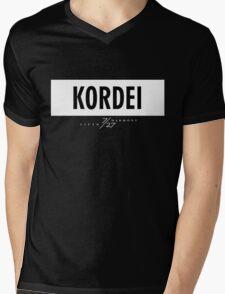 Kordei 7/27 - White Mens V-Neck T-Shirt