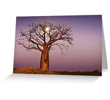 Twilight Moonlight Greeting Card