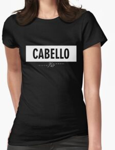 Cabello 7/27 - White Womens Fitted T-Shirt