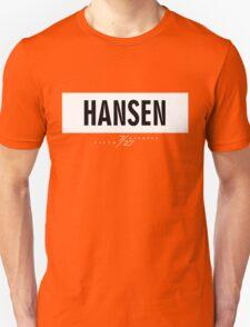 Hansen 7/27 - White Unisex T-Shirt