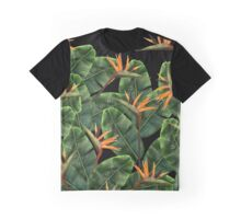 Tropical Birds of Paradise Graphic T-Shirt