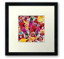 Okibal Mashup Framed Print