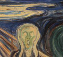 Munch - The Scream Sticker
