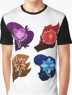 Squad Flower Heads Graphic T-Shirt