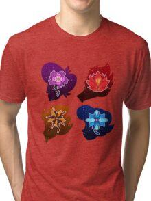 Squad Flower Heads Tri-blend T-Shirt
