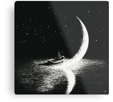 Arrival At Moonlight Metal Print