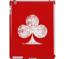 Club - WHite iPad Case/Skin