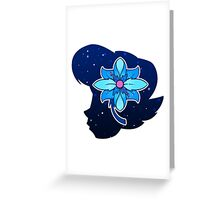 Vivi's Flower Greeting Card